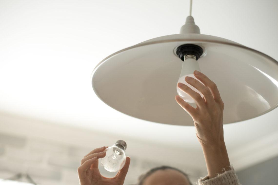 Onde posso utilizar lâmpadas de alto IRC?